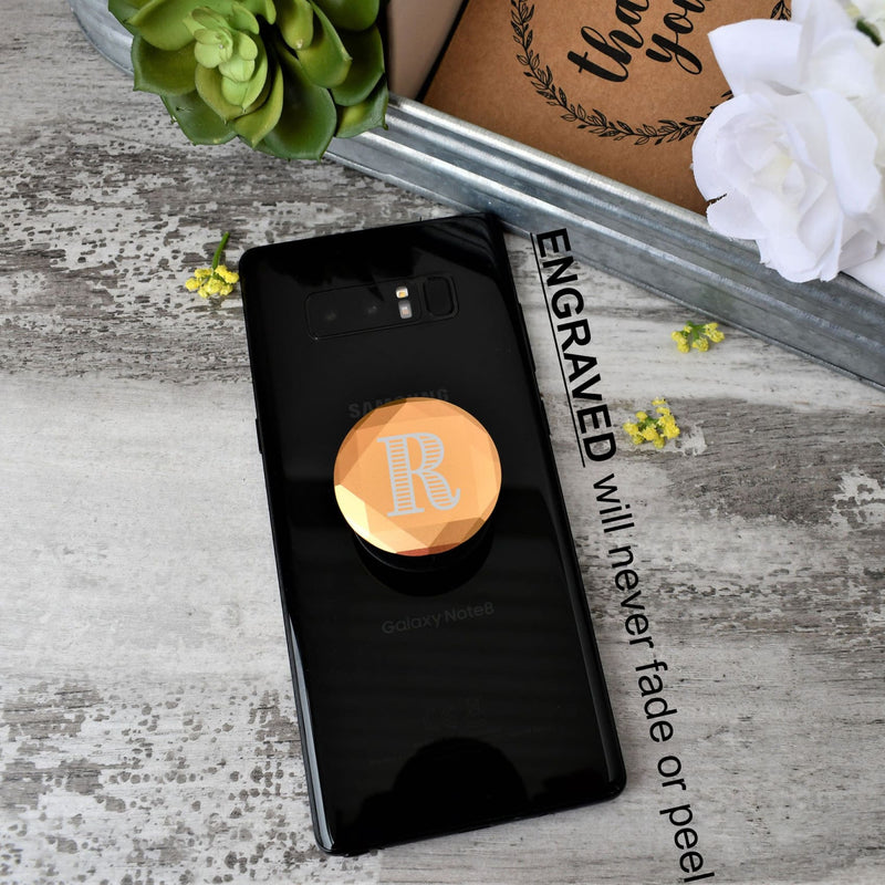 Popsocket - pop socket - Gold popsocket- Monogram popsocket - All Products