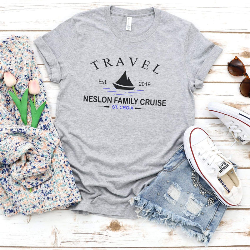 TShirt- Family Cruise Triblend Tee - All Products