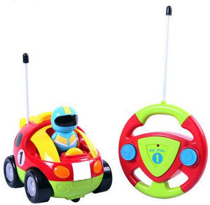 Liberty Imports Cartoon R/C Race Car Radio Control Toy for Toddlers (English Packaging) - Aevry's