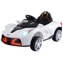 12V Battery Powered Kids Ride On Car RC Remote Control w/ LED Lights Music