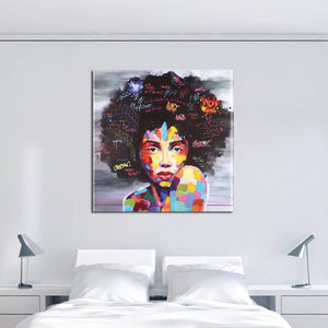 Beautiful Women Figures DIY Oil Painting By Numbers Hand Painted Canvas Modern Abstract Home Decor For Living Room Wall Art
