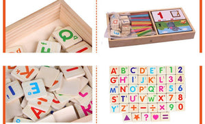 Early Learning Wooden Calculus Learning Box