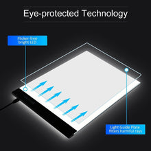 LED Light Drawing Table USB Pad A4 Board - Aevry's