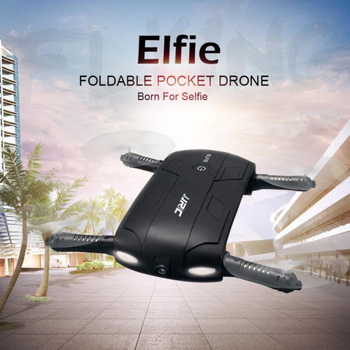 Mini Drone JJRC H37 Altitude Hold w/ HD Camera WIFI FPV RC Quadcopter Drone Selfie Foldable Headless Drone RC helicopter - Aevry's