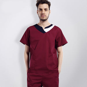 Professional hospital Medical Clothing Doctors Lab Suit Short Sleeved Surgical Clothing Medical Uniforms Sets