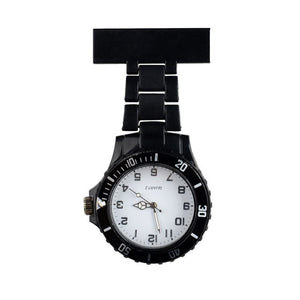 Nurses Watches Doctor portable Fob Watch Brooches Acrylic Candy Color Batteries Medical Nurse Watch Quartz with Clip