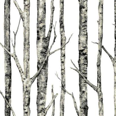 Birches Wallpaper