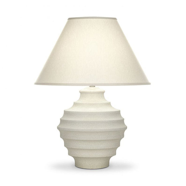 Connerly Table Lamp White Crackle