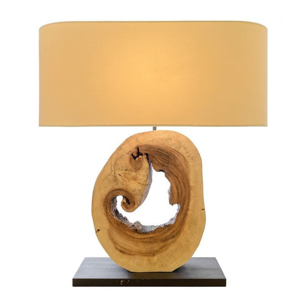 Kerr Table Lamp Small Natural