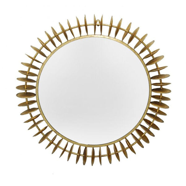 Greg Mirror Gold Leaf