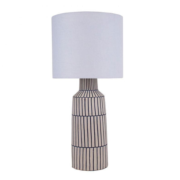 Evelyne Table Lamp Blue White