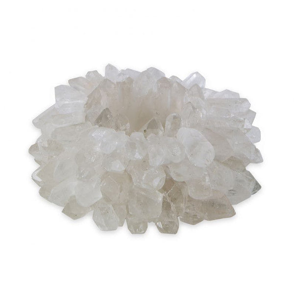 Zia Clear Quartz Votive Large