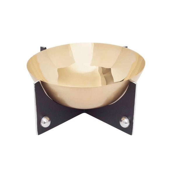Larmie Bowl Brass Black