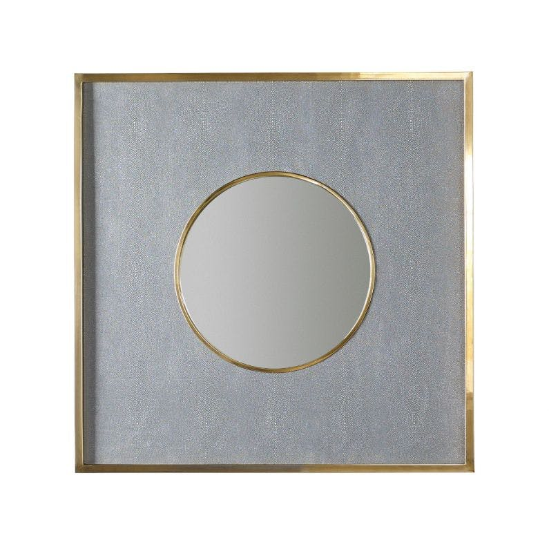 Morrison Mirror Gray Blue
