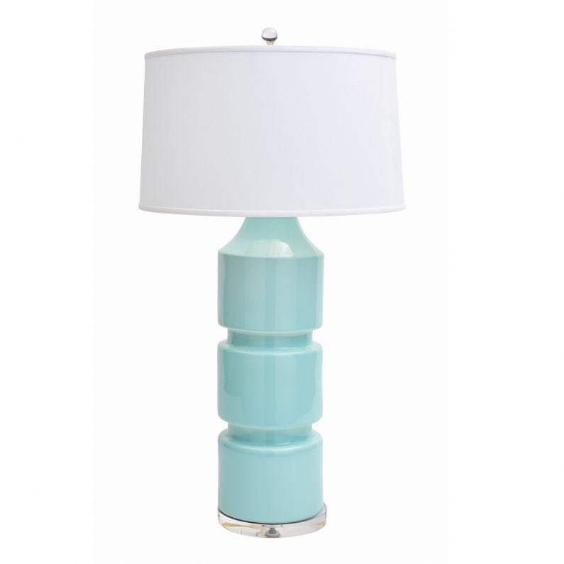 Milan Table Lamp Light Blue