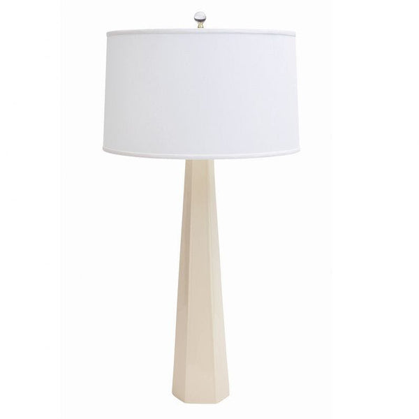 Luxor Table Lamp Ivory