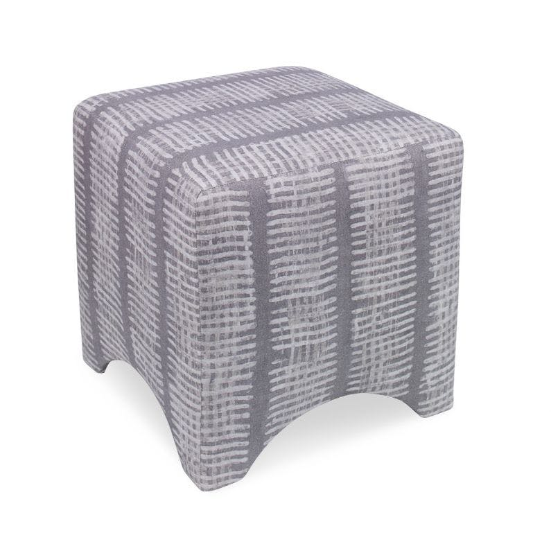 Knisely Ottoman New Line Slate