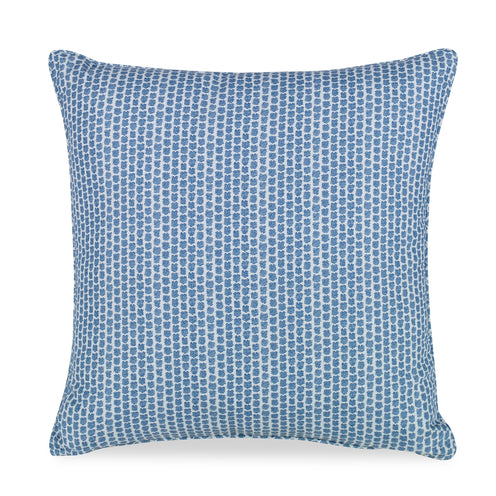 Blue Kaya Pillow