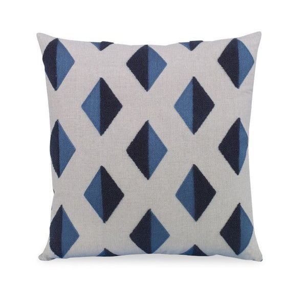 Blue Barroco Pillow