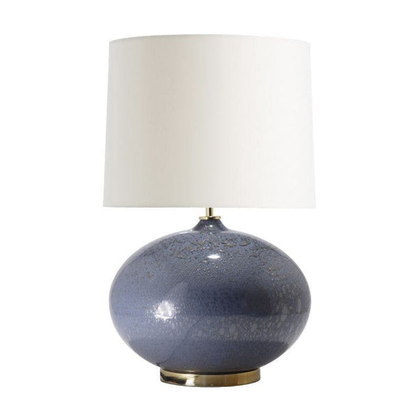 Ballard Table Lamp Smoke Silver