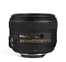 Load image into Gallery viewer, Nikon AF-S NIKKOR 50mm f/1.4G Lens