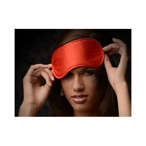 Le Boheme Satin Blindfold - Red