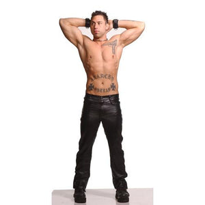 Mens Leather Pants- 34 Inch Waist