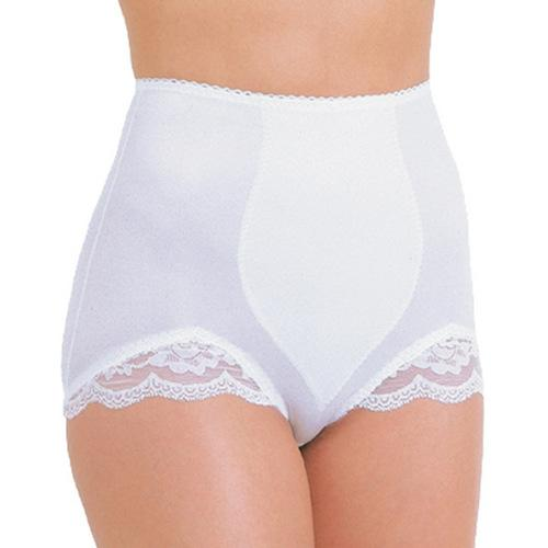 Rago Shapewear Panty Brief Light Shaping White 2X