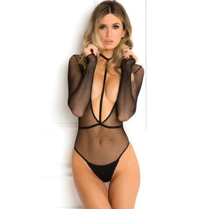Rene Rofe Body Plunge Harness Set Black M/L