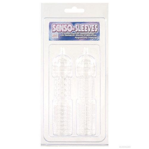 Senso Silicone Sleeves 2 Pack - Clear