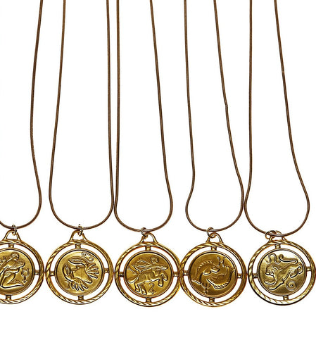Zodiac Power Necklace