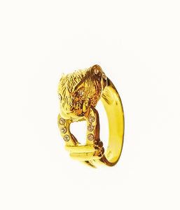 Jaguar Queen Ring