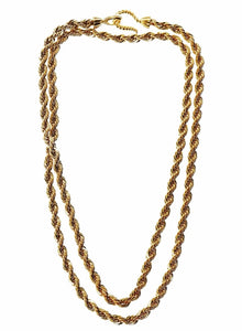 Cassie Long Rope Necklace