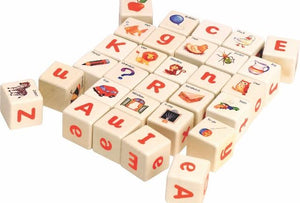 Wooden -educational-alphabet blocks