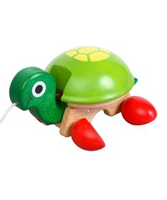 voila toy wooden pull along tortoise turtle.jpg