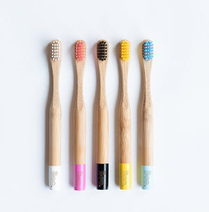 kids-coloured-bamboo-toothbrush-australia