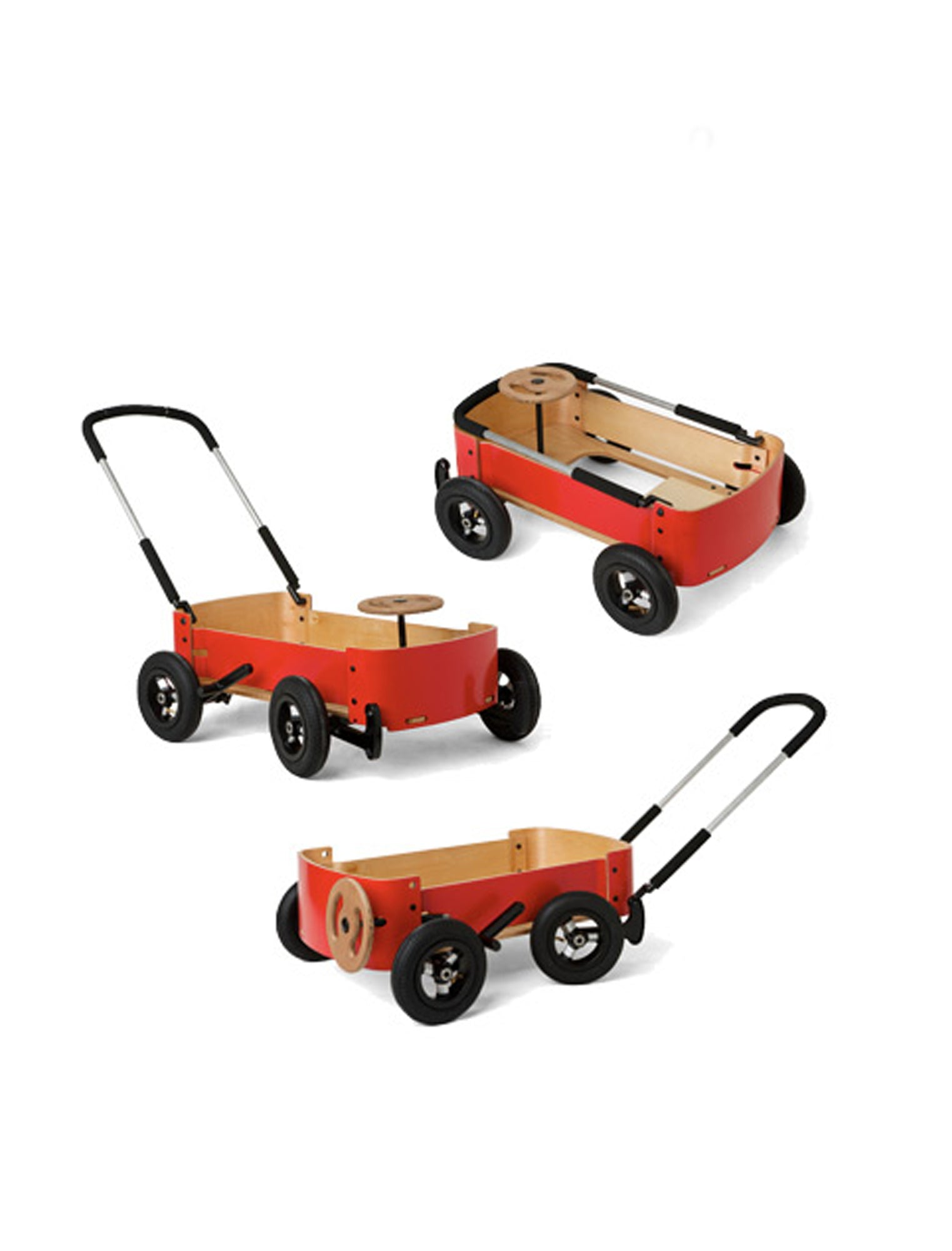 Wishbone Wooden Red Wagon 3 In 1 Free Shipping Australia Mr Kipp Eco Toys