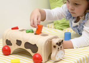 wooden -toy -cow-shape -sorter-australia