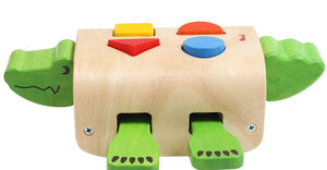 wooden- toy -crocodile- shape-sorter-australia
