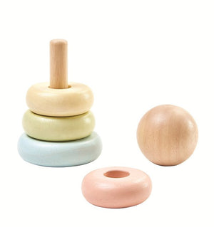 plan-toys-australia-pastel-first-wooden-ring-baby-stacker