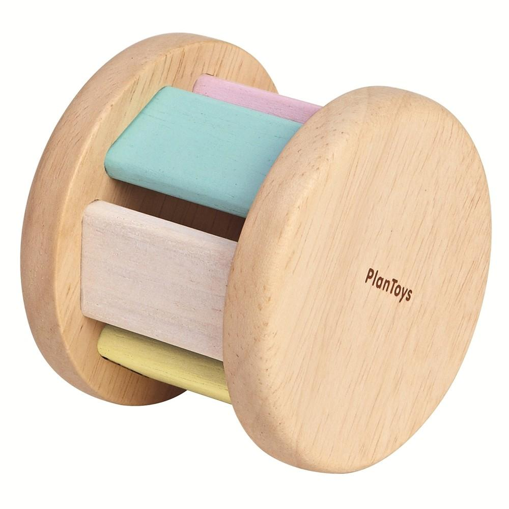Pastel Baby Rattle And Roll Non Toxic Natural Baby Toys Australia