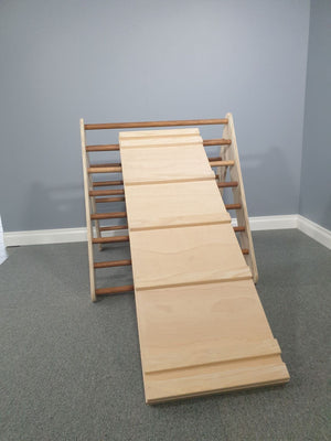 Wooden Climbing Ramp or Slide