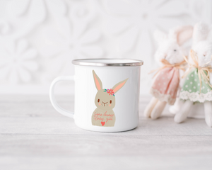 Enamel Mug - Some Bunny Loves You