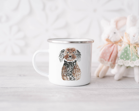Enamel Mug - Dog