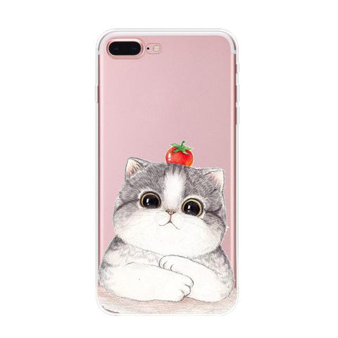 Silicone Chubby Cat Case