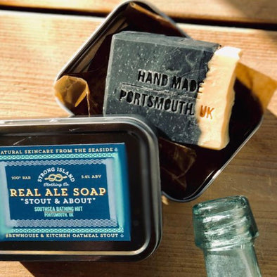 Real Ale Soap: Strong Island Clothing Co. collaboration