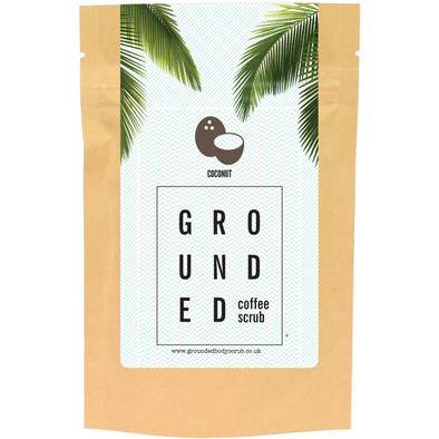 Grounded Body Coffee Body Scrub 100g