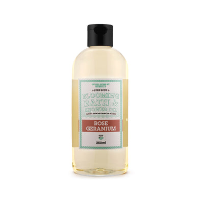 Blooming Bath & Shower Oil Rose Geranium