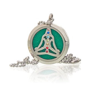 Aromatherapy Necklace Gift Set - Yoga