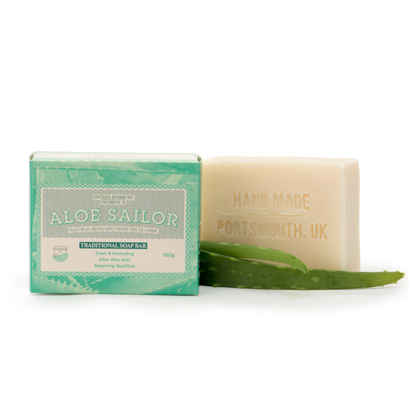 Artisan Soap Bar Aloe Sailor